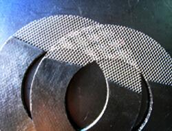 Miếng đệm bằng graphite được gia cố bằng lưới kim loại