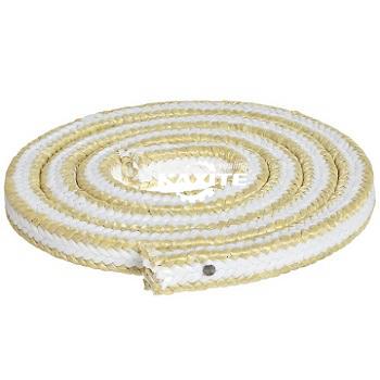 Đóng gói bằng nhựa PTFE trắng với các góc Aramid