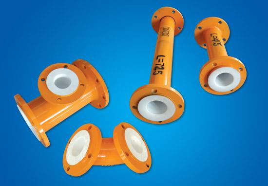 PTFE thép-nhựa thành phần ống
